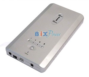 BiXPower  188 Watt-hour  12V & 19V  Rechargeable Lithium Ion Battery Power Bank Pack -BP160